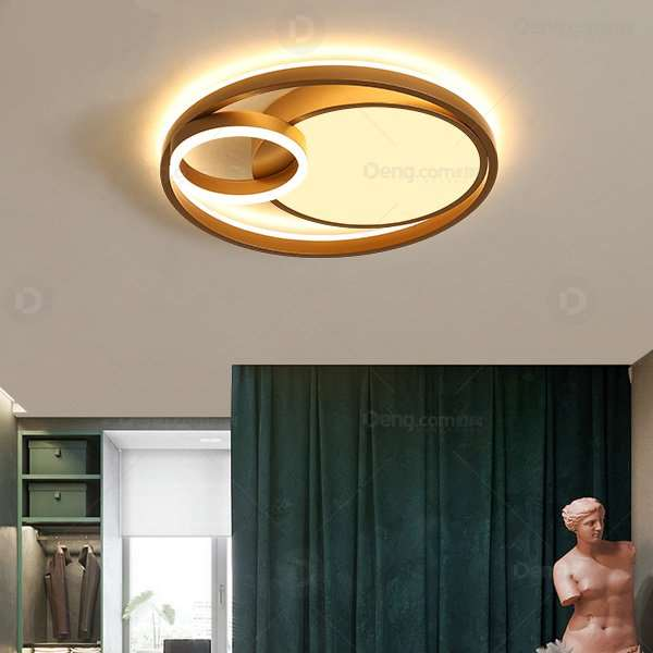 Iron Art,Aluminum,Acrylic Study Room/ Bedroom,Other Spray Painting And Frosting Modern Simple Ceiling Lamp