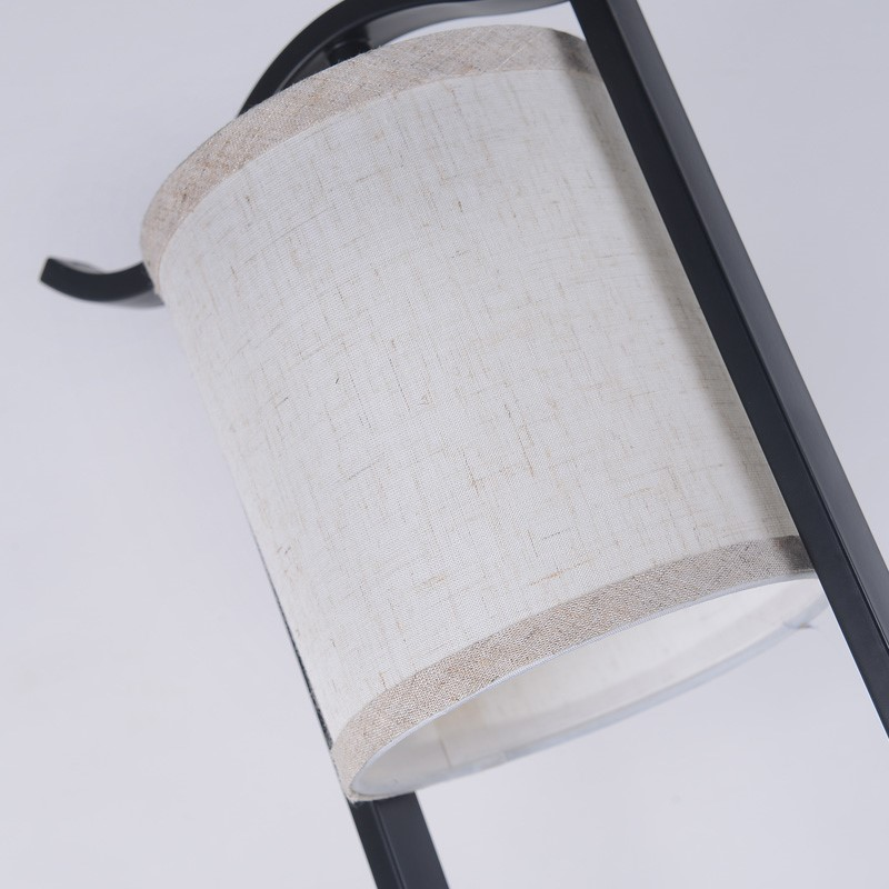 Iron Art,Glass,Cloth Art,PVC Living Room,Study/ Bedroom Forged New Chinese Floor Lamp