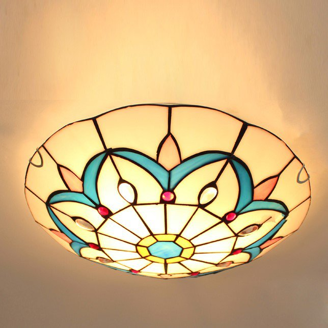 Glass Study Room/ Bedroom,Corridor/ Aisle/ Entrance Other/other American Simple Ceiling Lamp
