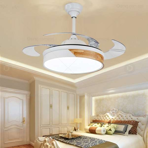 Iron Art,PVC,Solid Wood Living Room,Study/ Bedroom,Restaurant Modern Minimalist Fan Light,1 Lights