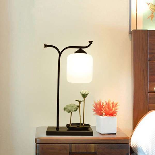Iron Art,Cloth Art Cloakroom,Study/ Bedroom,Living Room Spray Paint Matte New Chinese Table Lamp
