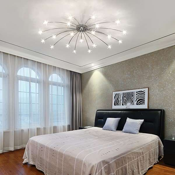 Glass,Iron Art Study Room/ Bedroom,Living Room Plating Nordic\ IKEA Ceiling Lamp
