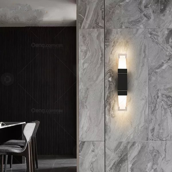Aluminum Outdoor,Balcony,Corridor/ Aisle/ Modern Simple Wall Lamp Of Xuanguan Die Casting, Double Head