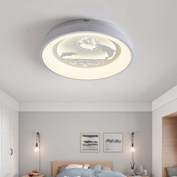 Iron Art,Acrylic Living Room,Study/ Bedroom,Restaurant Modern Minimalist Ceiling Lamp