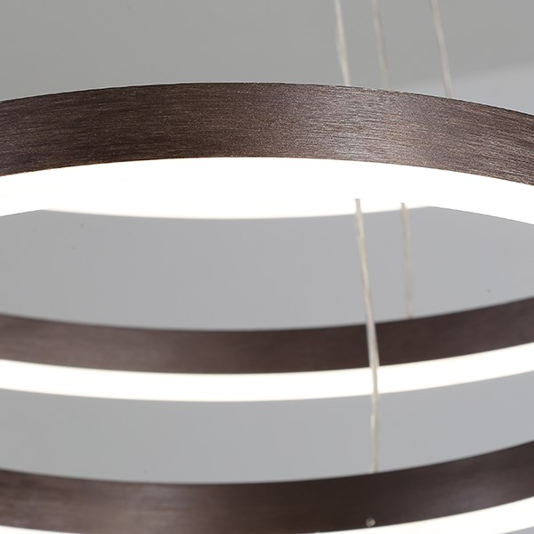 Iron Art,Acrylic Living Room,Restaurant,Other Spray Painting And Frosting Modern Simple Chandelier,3 Lights
