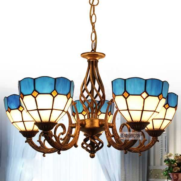 Glass Living Room,Restaurant Other/other Mediterranean Chandelier,5 Lights