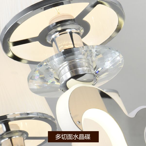Acrylic,Stainless Steel Living Room,Study/ Bedroom Electric Punching Rear Modern Wall Light, Single Head