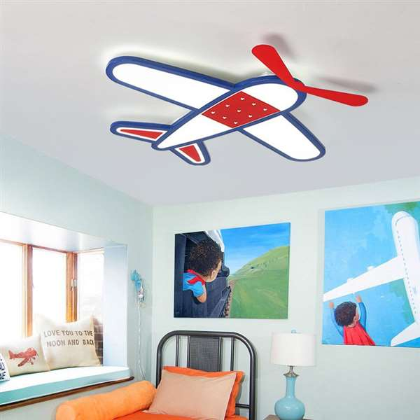 Acrylic Study Room/ Bedroom,Children's Room Painting And Sanding Children/ Cartoon Ceiling Lamp