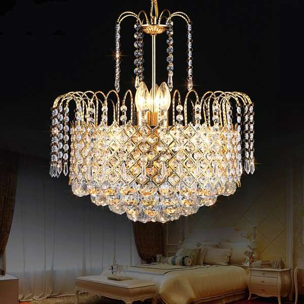 Iron Art,Glass,Crystal Stairs/ Corner,Living Room Electroplating European Chandelier,9 Lights
