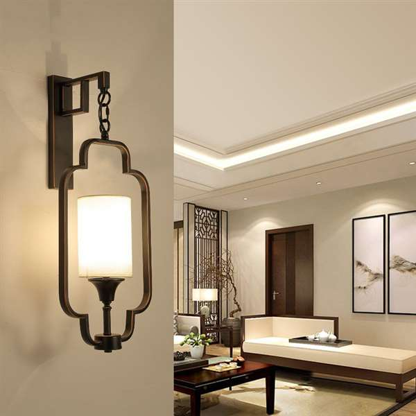 Iron Art,Cloth Living Room,Corridor/ Aisle/ European Forged Light Luxury Chandelier, Single Head