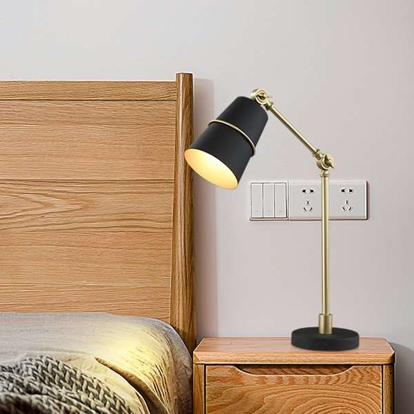 Iron Living Room,Study/ Bedroom,Children's Room Painting And Sanding In Northern Europe\ IKEA Table Lamp