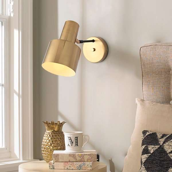 Iron Living Room,Study/ Bedroom Nordic\ IKEA Wall Light, Single Head