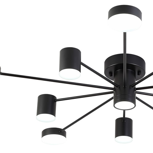 Tieyi Children's Room,Study/ Bedroom,Living Room Spray Paint Frosted Postmodern Ceiling Lamp