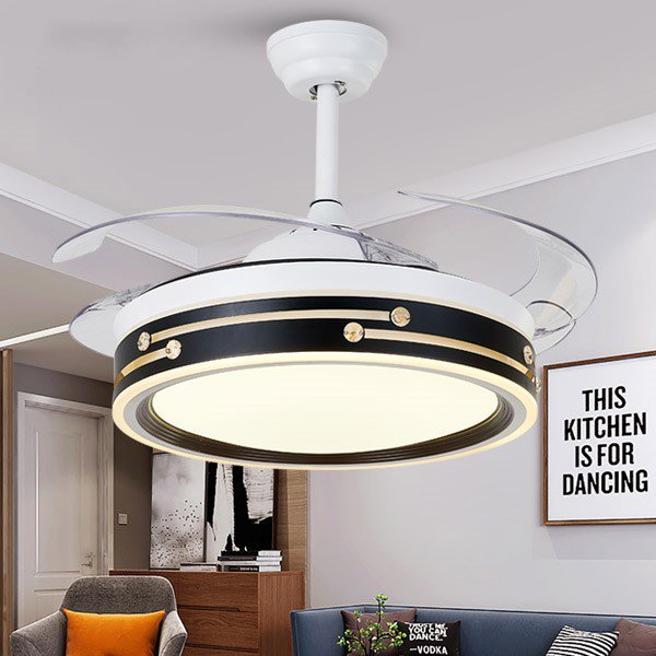 Acrylic,PC,Iron Living Room,Study/ Bedroom,Restaurant Plated Modern Minimalist Fan Light,1 Lights