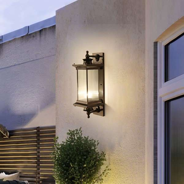 Iron Art,Glass Balcony,Corridor/ Aisle/ Entrance,Living Room Spray Paint Matte New Chinese Wall Lamp, Single Head