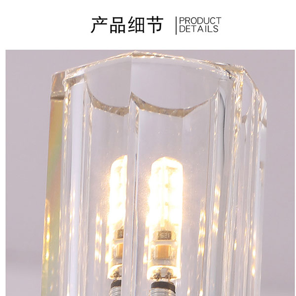 Iron Art,Crystal Study Room/ Bedroom,Children's Room,Chess Room/ Mahjong Hall Electroplating Light Luxury Chandelier,24 Above The Head