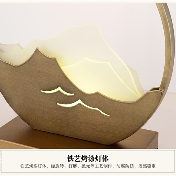 Iron Art,Cloth Art,Resin Living Room,Study/ Bedroom,Villa/ Hotel Lobby Others/other New Chinese Table Lamp