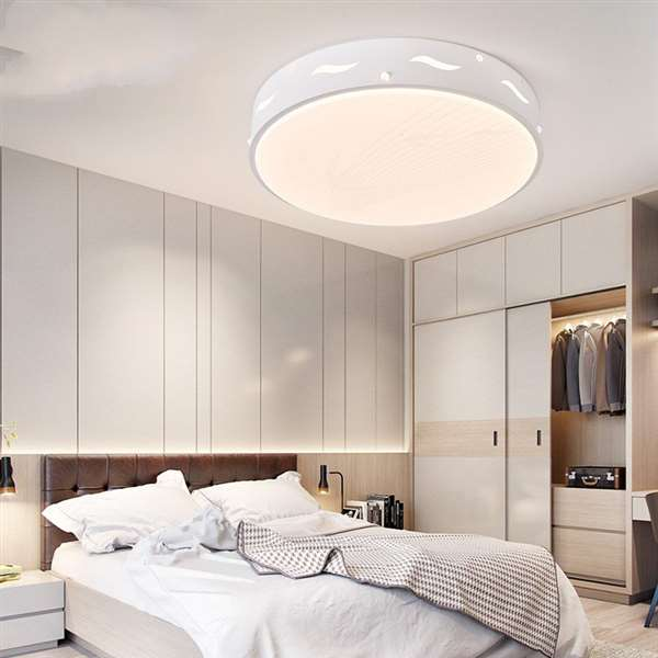Iron Art,Acrylic Living Room,Study/ Bedroom,Modern Simple Ceiling Light In Children's Room
