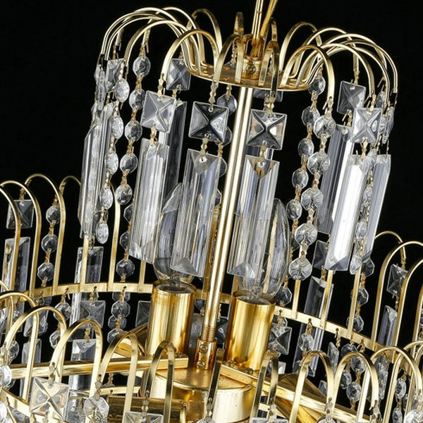 Iron Art,Crystal Corridor/ Aisle/ Entrance,Stairs/ Corner Electroplated European Chandelier,8 Lights