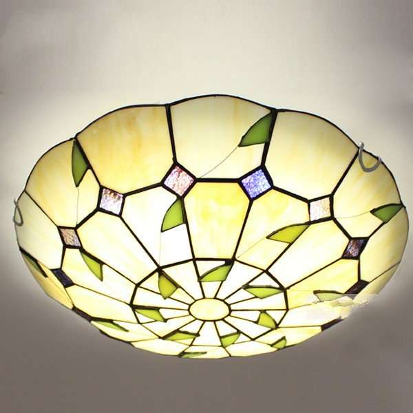 Glass Study Room/ Bedroom,Other Other/other American Simple Ceiling Lamp