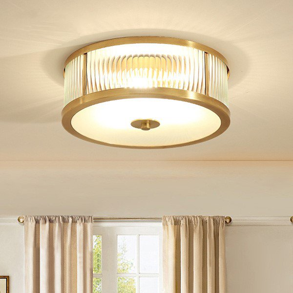 Glass,Copper Restaurant,Corridor/ Aisle/ Entrance Other/other American Simple Ceiling Lamp