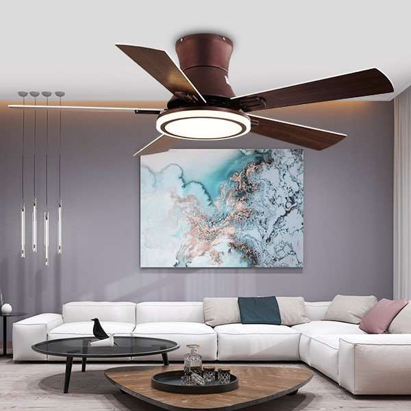 Iron Art,Copper,ABS Restaurant,Study/ Bedroom,Living Room Modern Simple Fan Light,1 Lights