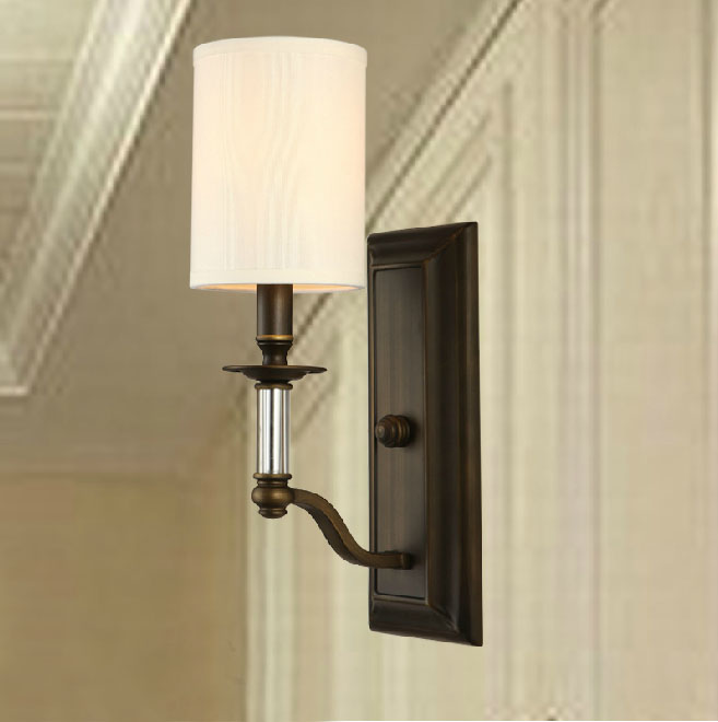Iron Art,Cloth Restaurant Other/other American Simple Wall Lamp
