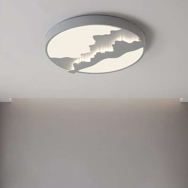 Iron Art,Acrylic Others,Study/ Bedroom,Children's Room Spray Paint Frosted Modern Simple Ceiling Lamp