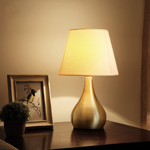 Copper,Cloth Living Room,Study/ Bedroom Other/other American Simple Table Lamp