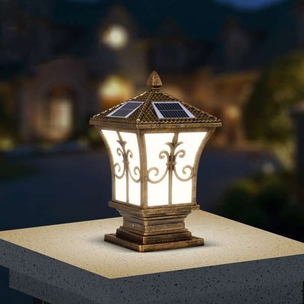 Aluminum Outdoor Die Cast European Outdoor Lamp