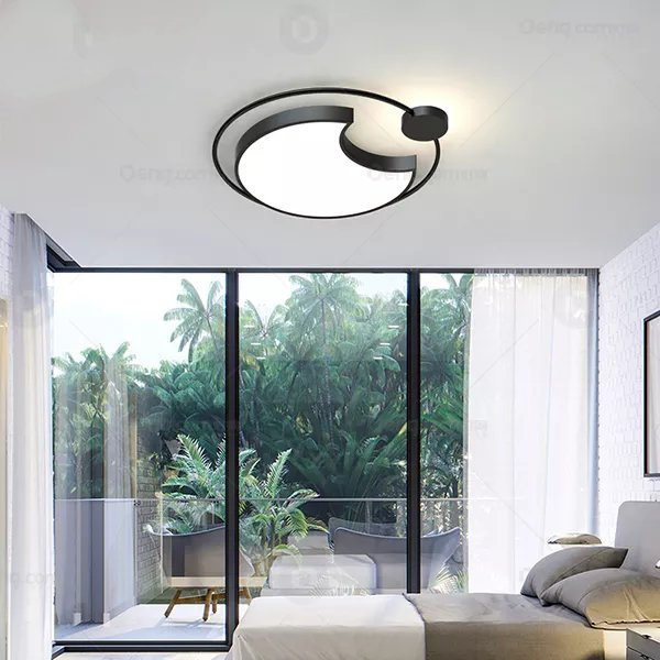 Iron Art,Acrylic,Aluminum Study Room/ Bedroom Spray Paint Frosted Nordic\ IKEA Ceiling Lamp