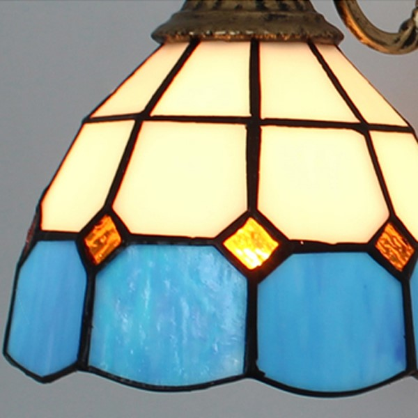 Glass Corridor/ Aisle/ Entrance,Balcony Other/other Mediterranean Wall Light, Double Head