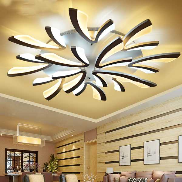 Iron Art Study Room/ Bedroom,Living Room Spray Paint Frosted Modern Simple Ceiling Lamp