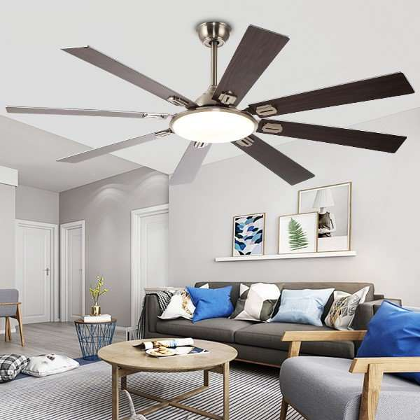 Iron Art,Copper,Wooden Restaurant,Living Room Modern Simple Fan Light,1 Lights
