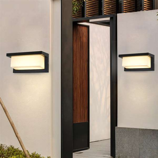 Aluminum Balcony,Corridor/ Aisle/ Entrance,Stairs/ Corner Die-casting Modern Minimalist Wall Lamp, Single Head