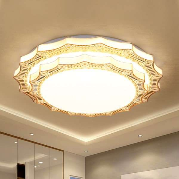 Acrylic,PC Study/ Bedroom,Cloakroom Blow Molding Modern Minimalist Ceiling Light