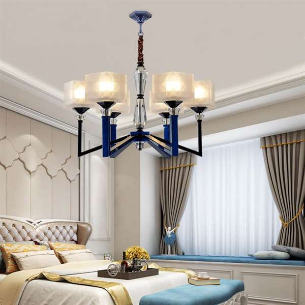Crystal,Iron Living Room,Study/ Bedroom,Restaurant,Stairs/ Corner,High Level/ Duplex,Villa/ The Hotel Lobby,Other Light Luxury Chandeliers,6 Lights