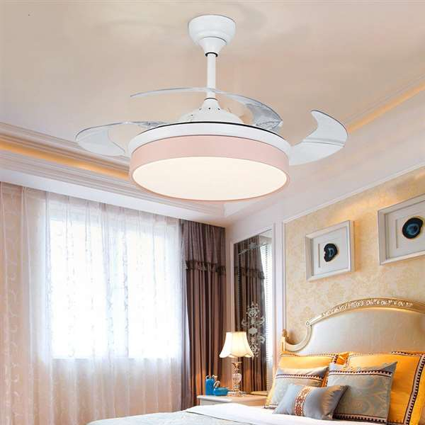 Iron Art,ABS,Acrylic Restaurant,Study/ Bedroom,Living Room Modern Simple Fan Light,1 Lights