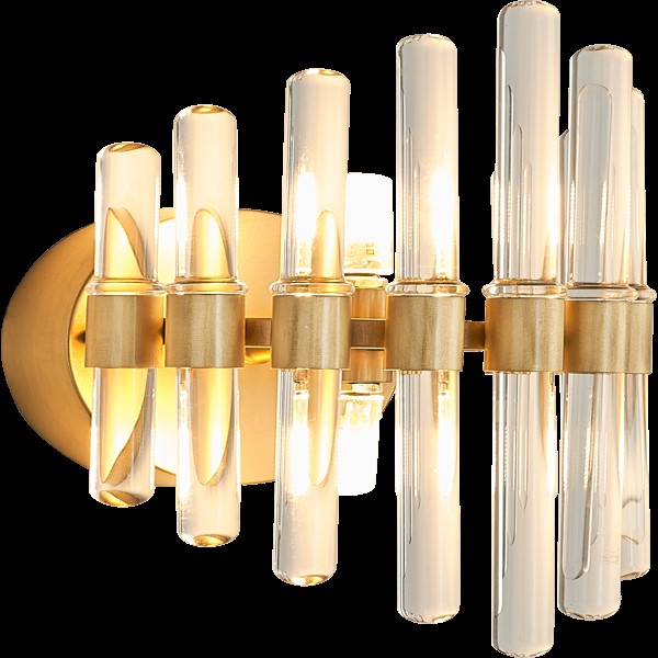 Copper,Crystal Corridor/ Aisle/ Entrance,Stairs/ Corner,Living Room Spray Paint Frosted Postmodern Wall Lamp, Single Head