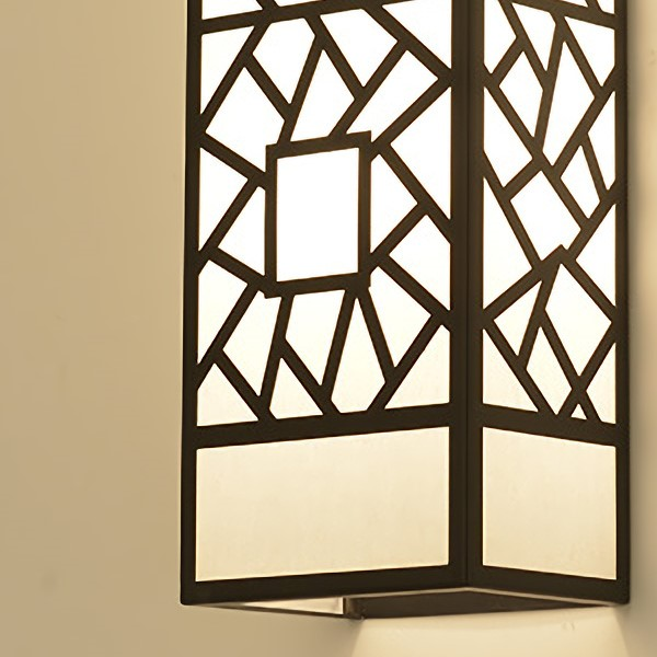 Iron Art Chess And Card Room/ Mahjong Museum,Villa/ New Chinese Style Wall Lamp For Painting And Sanding In Hotel Lobby, Double Head