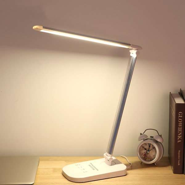 Aluminum,Acrylic Study Room/ Bedroom,Children's Room Spray Paint Frosted Modern Simple Table Lamp