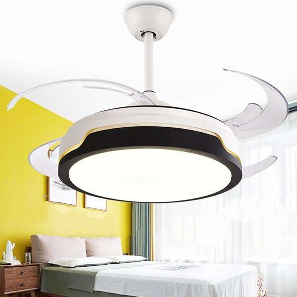 Iron Art,Acrylic,PC Restaurant,Study/ Bedroom,Living Room Modern Simple Fan Light,1 Lights