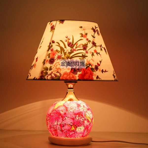 Glass Study Room/ Bedroom,Other Other/other American Country Table Lamp