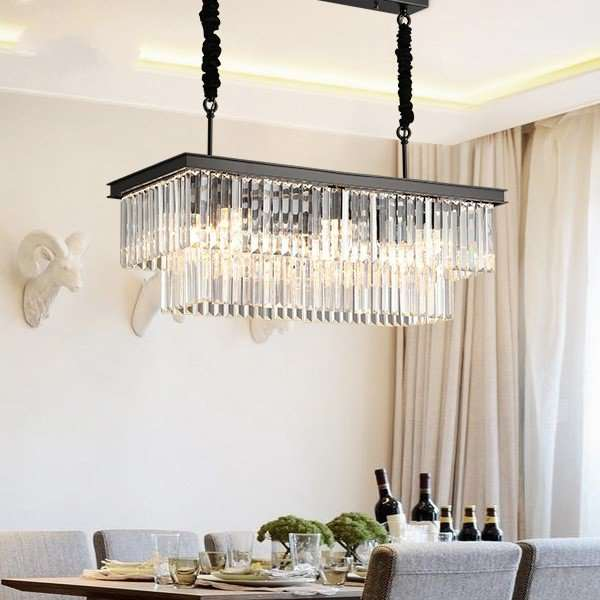 Iron Art,Crystal Living Room,Restaurant,Study/ Bedroom Hot Bend American Simple Chandelier,8 Lights