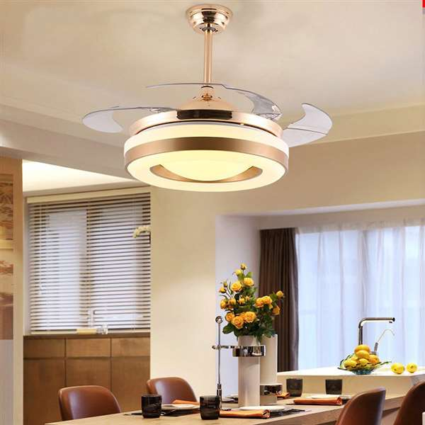 ABS,Iron Art,PVC Living Room,Restaurant,Study/ Bedroom Modern Minimalist Fan Light,1 Lights