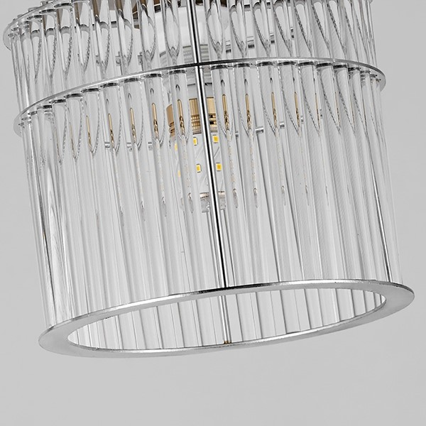 Crystal,Stainless Steel Restaurant,Corridor/ Aisle/ Entrance,Balcony Other/other Light Luxury Chandelier,1 Lights