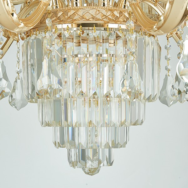 Zinc Alloy Villa/ The Hotel Lobby,Living Room Electroplating European Chandelier,15 Lights