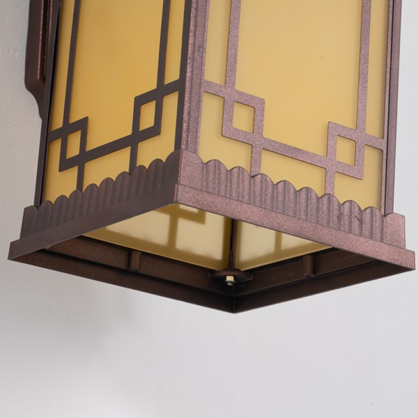 Aluminum Corridor/ Aisle/ Entrance,Balcony,Outdoor Die-casting Chinese Wall Lamp, Single Head