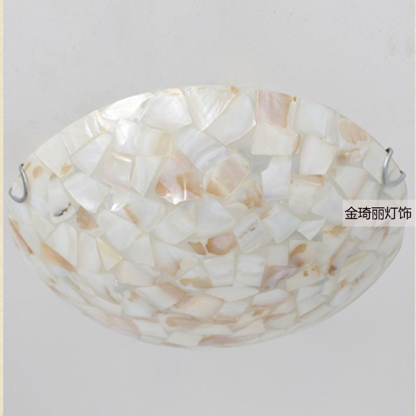 Shell Living Room,Study/ Bedroom Other/other Mediterranean Ceiling Light
