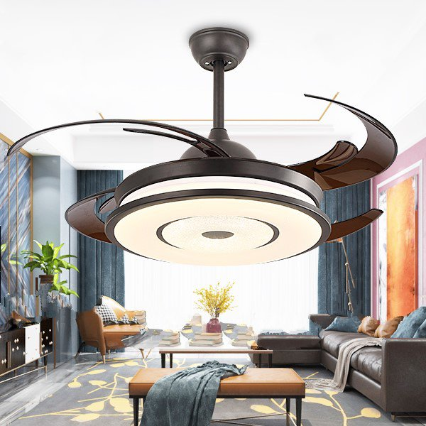 Iron Art,PC Living Room,Villa/ The Hotel Lobby,Other Modern Simple Fan Lights,1 Lights